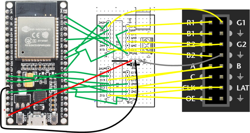 Matrix Panel Wiring Diagram