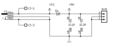 Schematic power source